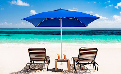 Sailrock Resort White Sand Beach Loungers Relaxation 1