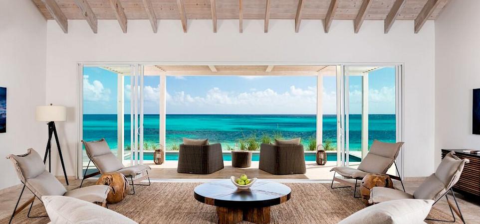 Sailrock Resort Beachfront Villa Living Room 2