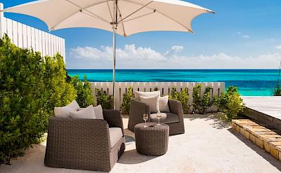 Sailrock Resort Beachfront Villa Outdoor Pool And Terrace Garden 2