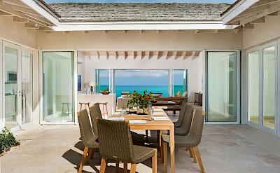 Sailrock Resort Beachfront Villa Garden Dining 1