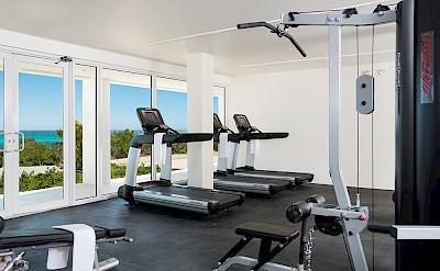 Sailrock Resort Fitness Center Gym 1