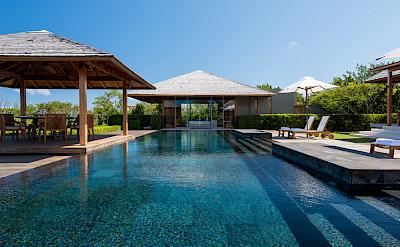 Villa 4 Master Bedroom Pavilion