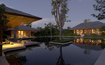 Villa 1 Reflective Pond Bedroom Pavilions