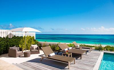 Sailrock Resort Beachfront Villa Outdoor Pool And Terrace Garden 1