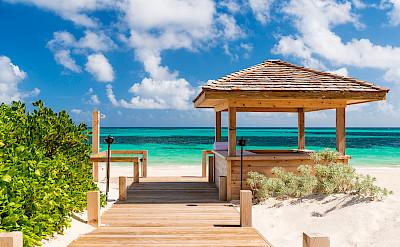 Sailrock Resort Beach Boardwalk 4