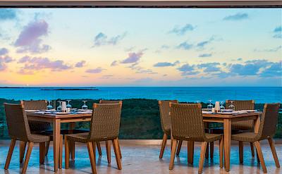 Sailrock Resort Great House Restaurant West Coast Dining Sunset 1