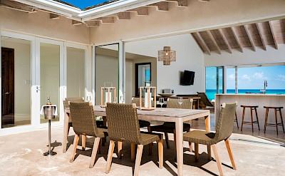 Sailrock Resort Beachfront Villa Garden Dining 3