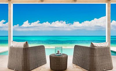 Sailrock Resort Beachfront Villa Outdoor Terrace 1