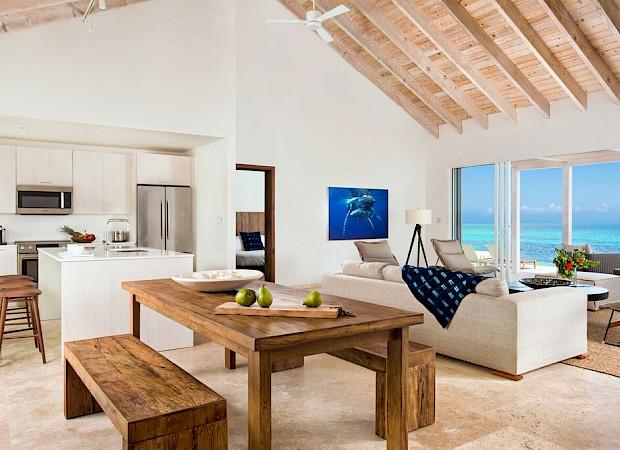 Sailrock Resort Beachfront Villa Dining Room 1