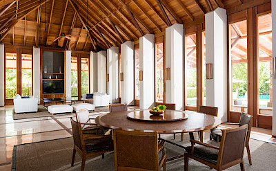 Villa Living Dining Pavilion