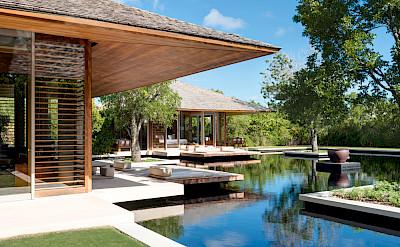 Villa Reflective Pond