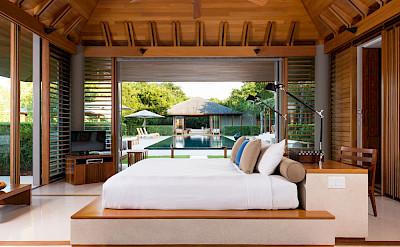 Villa Master Bedroom Pavilion