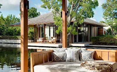 Villa 3 Front Terrace