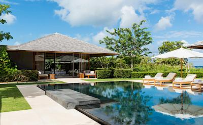 Villa 3 Infinity Pool Master Bedroom Pavilion