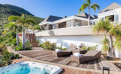 Vacation Rental St Barthelemy WV ACA Villa St Barts Villa ACAdek Desktop
