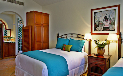 Agave Azul Blue Beds View Into Bat Oom Luxury Villa In Cabo Del Sol Lifestyle Villas L