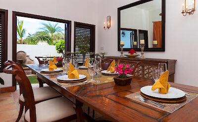 Villa Villa Anguilla Dining 3
