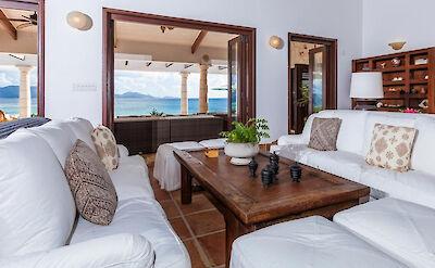 Villa Villa Anguilla Living Rm 4