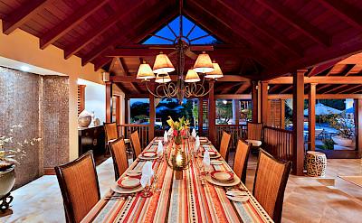 Villa Sandy Lane Feb Dine Twilight