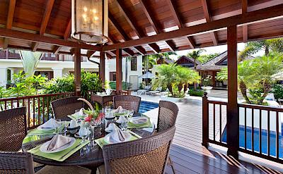 Villa Sandy Lane Feb Gazebo