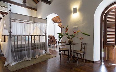 Ambassadors House Galle Master Bedroom