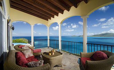 Anacapri Living Room Porch