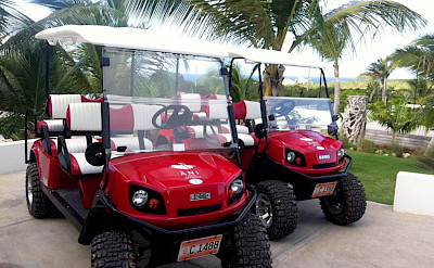 Ani Villas Anguilla Golf Carts