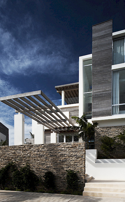 Ani Villas Anguilla North Front Detail