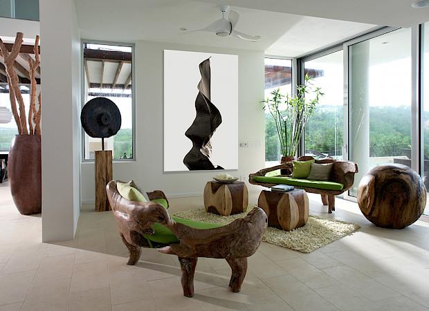 Ani Villas Anguilla South Curve Liv Room