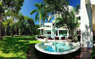 Villa Playa Del Carmen Jacuzzy