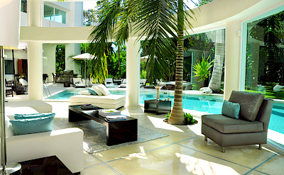 Villa Playa Del Carmen Living 2