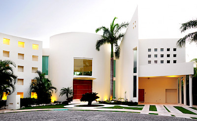 Villa Playa Del Carmen Facade