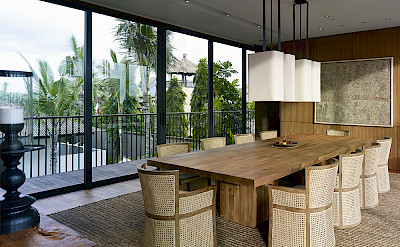 Arnalaya Beach House Dining Room With A View To The Sea