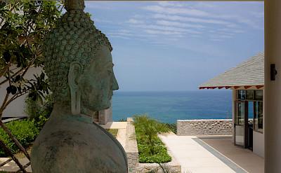 Baan Paa Talee Buddha Statue Detail