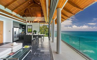 Villa Baan Paa Talee Ocean Villa Living Space
