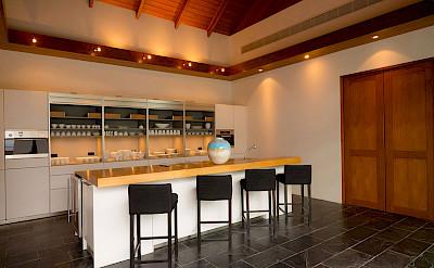 Baan Paa Talee Fancy Kitchen Area