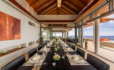 Villa Baan Paa Talee Formal Dining Setting
