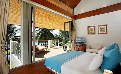 Tropical Bedroom Outlook