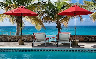 Baie Longue Beach House Pool 6