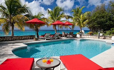 Baie Longue Beach House Pool 5