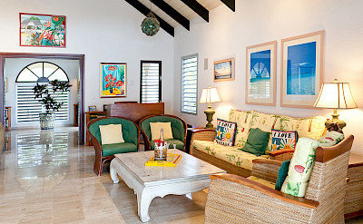 Baie Longue Beach House Living 2