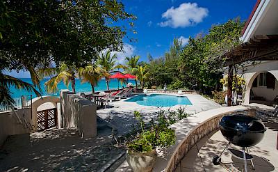 Baie Longue Beach House Terrace 2