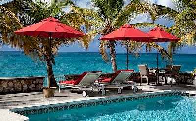 Baie Longue Beach House Pool 2