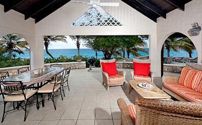 Baie Longue Beach House Outside Living 2
