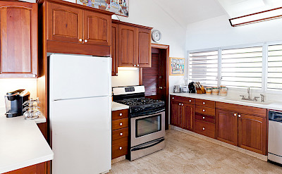 Baie Longue Beach House Kitchen 2