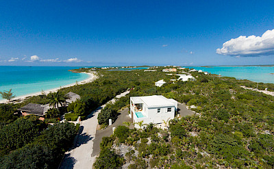 Aerial View Of Villa