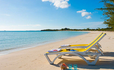 Your Personal Loungers Provided On The Beach
