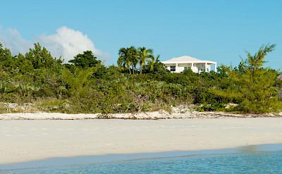 Villa As Seen From Taylor Bay Beach