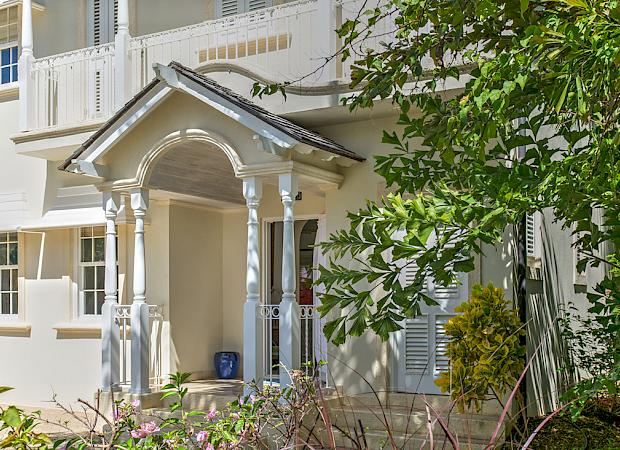 Villa View Front Entrance