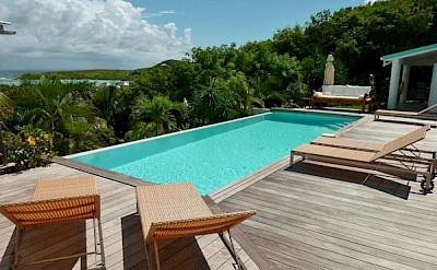 Vacation Rental St Barthelemy WV BLU Villa BlueLagoon St Barts Villa Bludek Desktop